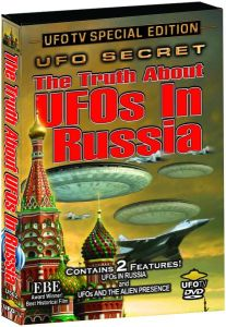 UFO Secret: The Truth About UFOs In Russia - DVD