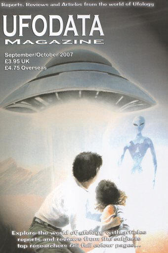 UFODATA MAGAZINE SEP/OCT 2007 A4 68 PAGES (SOLD OUT)